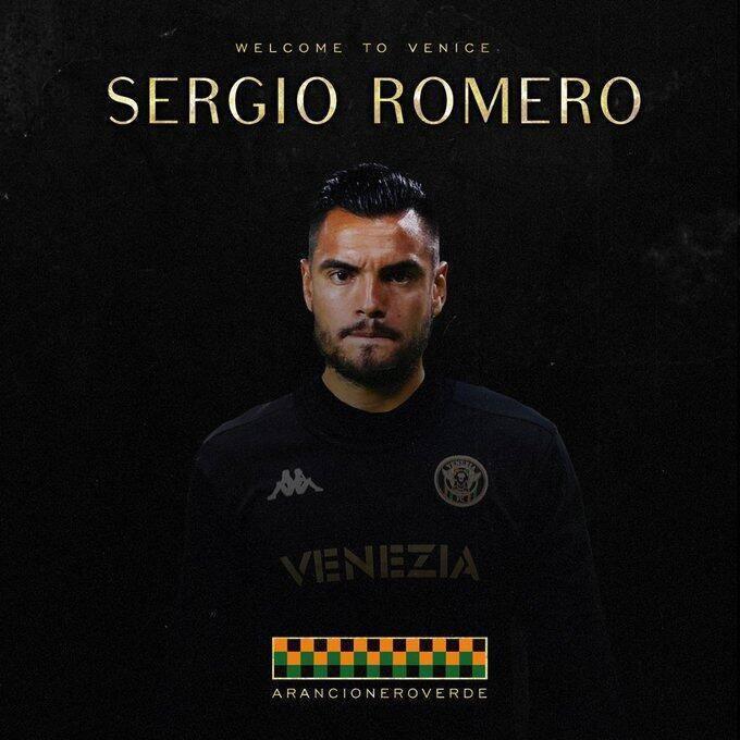 意甲官方宣布签下阿根廷门将罗梅罗自由转会加盟威尼斯