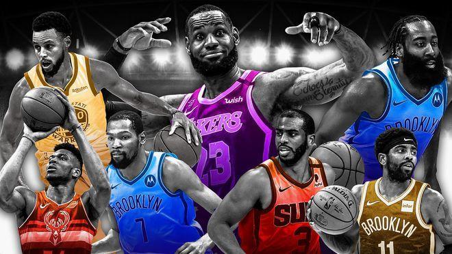 詹皇接连第7年登顶NBA收入榜 9540万创历史纪录