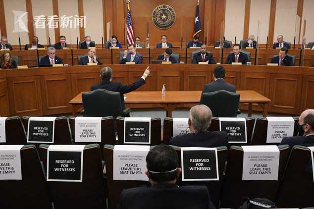 德州电力可靠性委员会出席州政府听证会