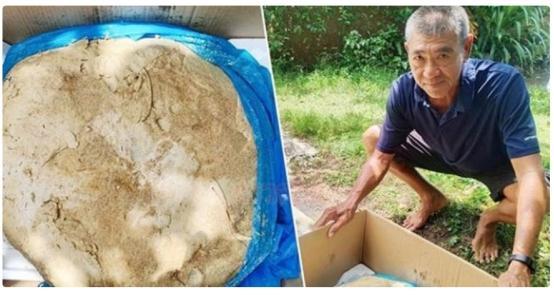 世纪官方平台:泰国老人捡到一块腥臭石头,没想到瞬间暴富,捡到了578万